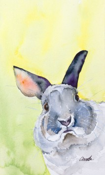 grey-bunny-rabbit-original-watercolor-painting-by-annette-bennett-1