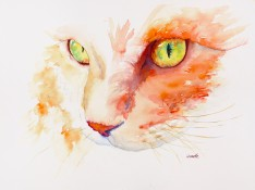 orange-tabby-cat-original-watercolor-painting-by-annette-bennett