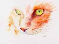 orange-tabby-cat-original-watercolor-painting-by-annette-bennett